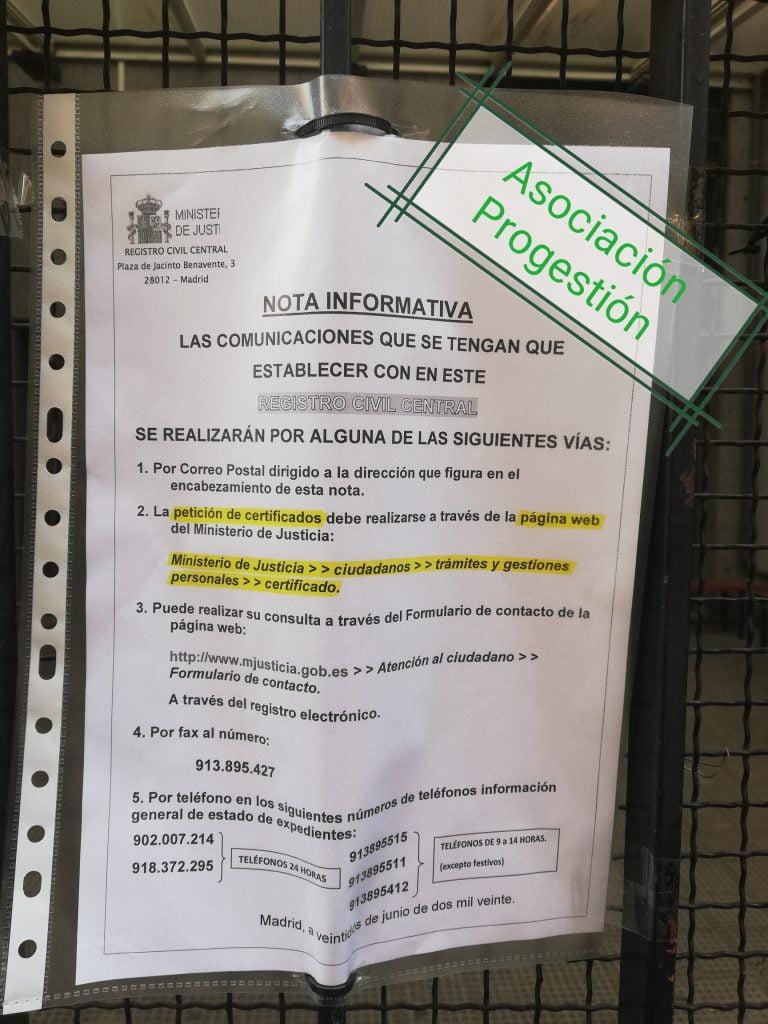 Cita Previa Asilo Calle Pradillo