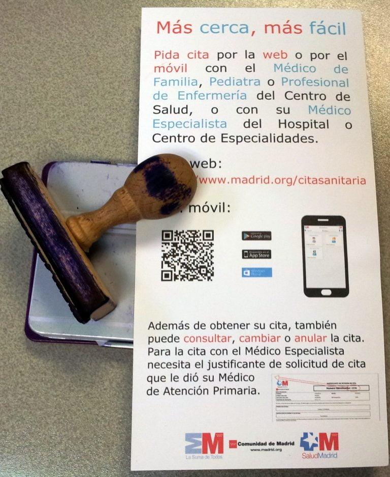 Cita Previa Atención Primaria Comunidad De Madrid