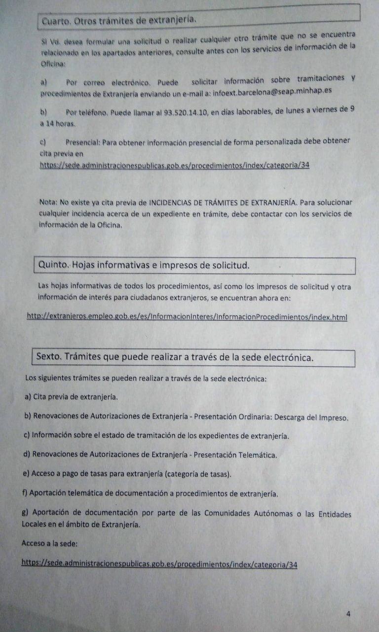 Cita Previa Extranjeria Valencia