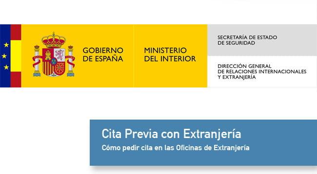 Cita Previa en Extranjería  Guadalcázar (Córdoba)