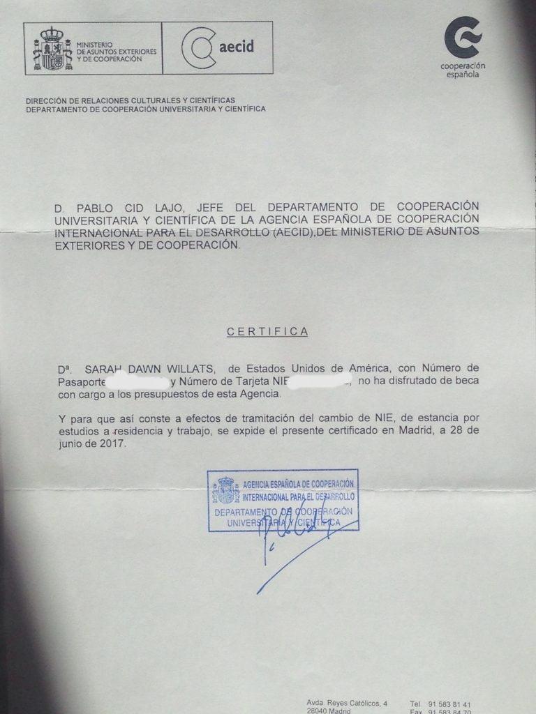 Cita Previa Nie Extranjeria Madrid