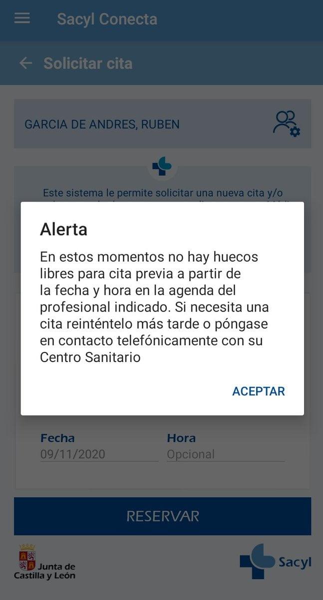 Cita Previa Sanitaria Castilla Y Leon